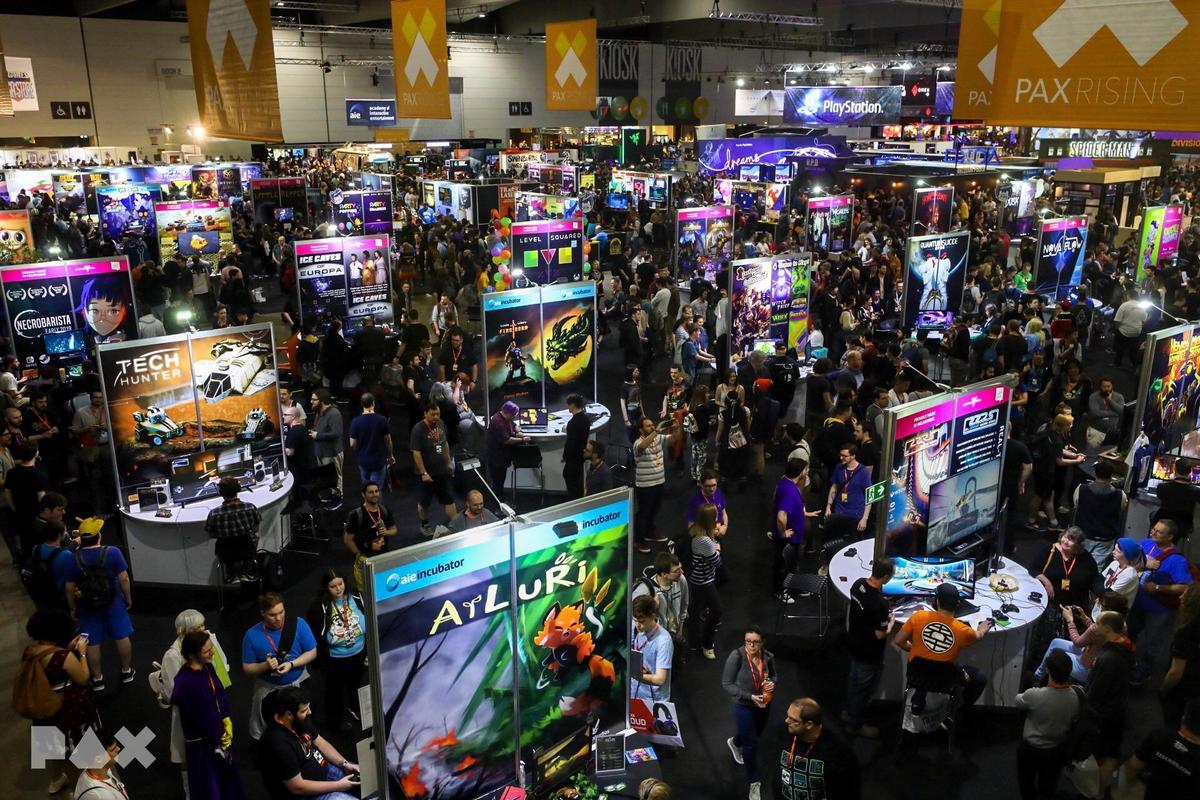 澳大利亚墨尔本国际游戏动漫展览会_现场照片