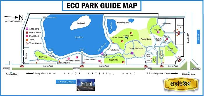印度新城生态园平面图