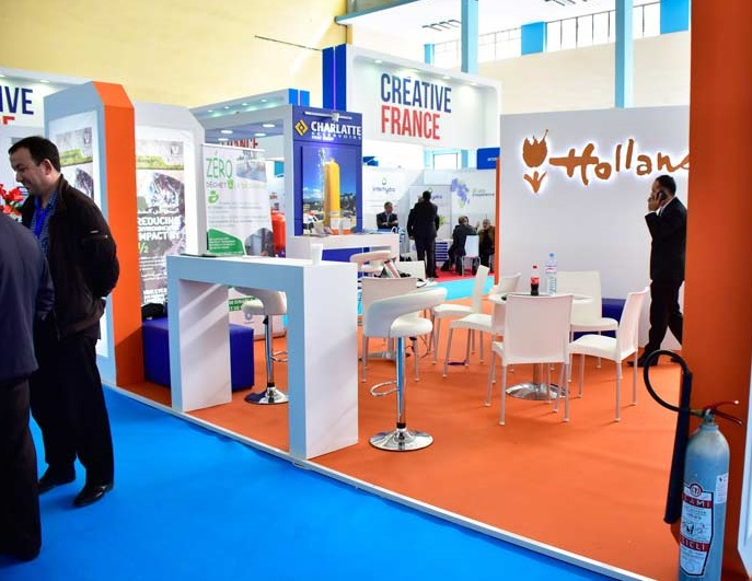 阿尔及利亚国际环保及水处理设备展览会_现场照片