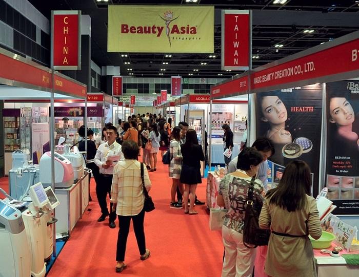 新加坡国际美容美发展览会_现场照片