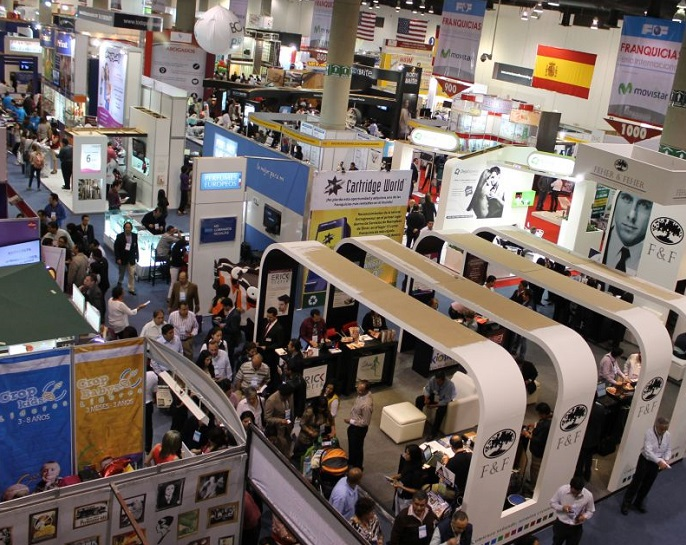 墨西哥国际连锁加盟展览会_现场照片