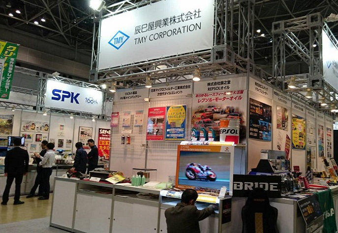 日本东京汽车配件及售后市场展览会_现场照片