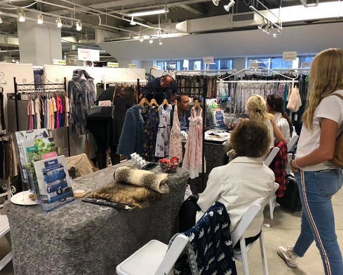 美国洛杉矶国际春季纺织展览会_现场照片