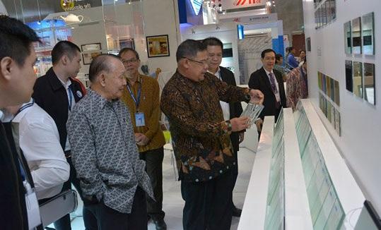 越南胡志明市国际玻璃技术展览会_现场照片