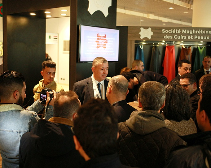 阿尔及利亚国际纺织服装采购展览会_现场照片