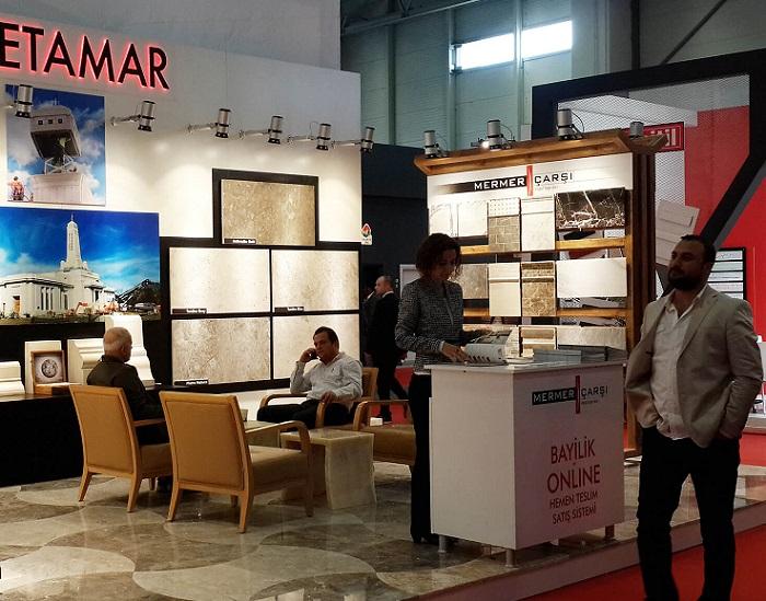土耳其伊斯坦布尔国际石材及瓷砖展览会_现场照片