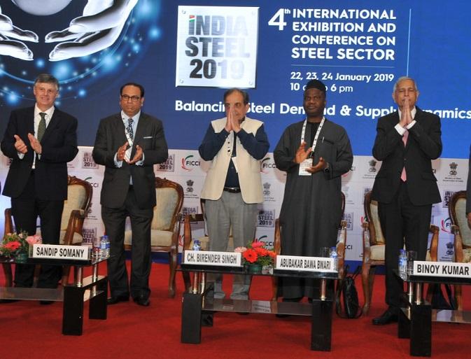 印度孟买国际钢铁工业展览会_现场照片