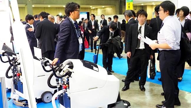 日本东京国际清洁用品展览会_现场照片