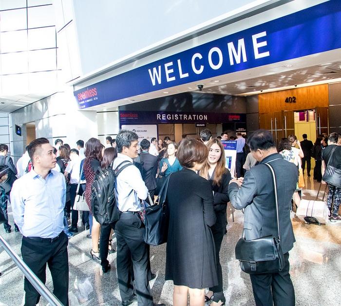 新加坡国际智能卡、支付、识别展览会_现场照片