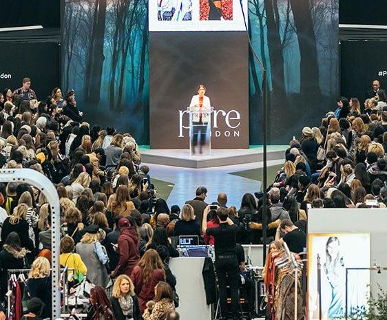 英国伦敦国际春季时尚服装服饰展览会_现场照片