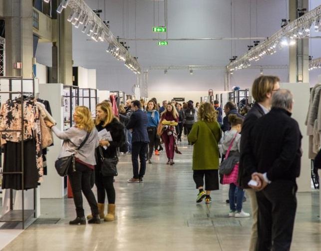 意大利米兰国际春季纺织面料暨服装采购展览会_现场照片