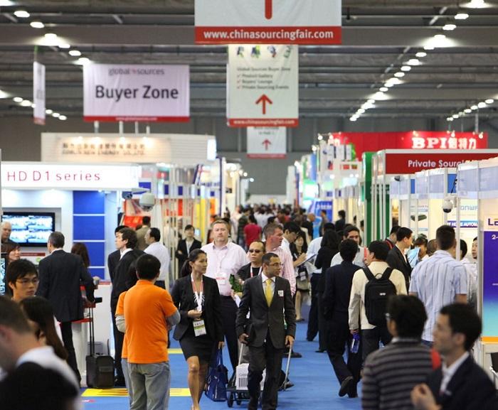 香港环球资源移动电子展览会_现场照片