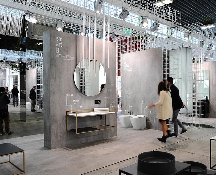 意大利博洛尼亚国际陶瓷卫浴展览会_现场照片