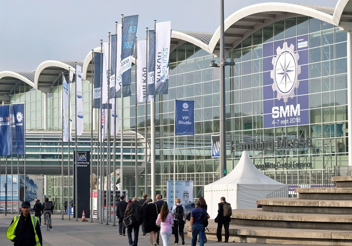 德国汉堡国际海事展览会_现场照片