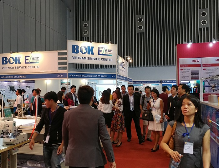 越南胡志明国际纺织及制衣工业展览会_现场照片