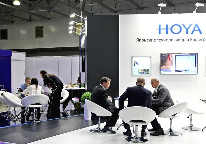 俄罗斯莫斯科国际春季光学眼镜展览会_现场照片