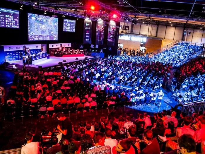 西班牙马德里国际电子竞技游戏动漫展览会_现场照片