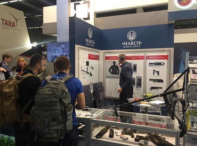 新加坡国际军警防务展览会_现场照片