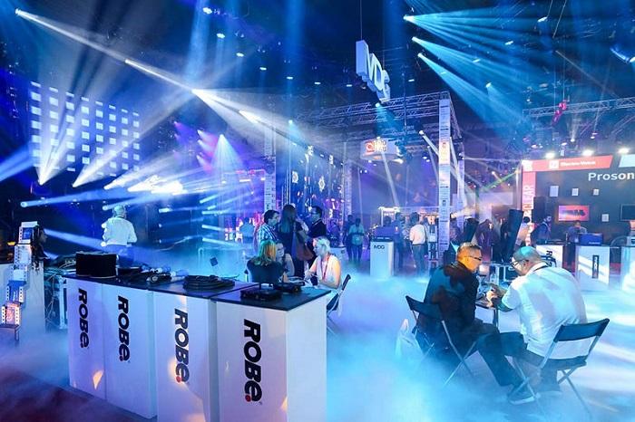 迪拜国际舞台灯光音响及乐器展览会