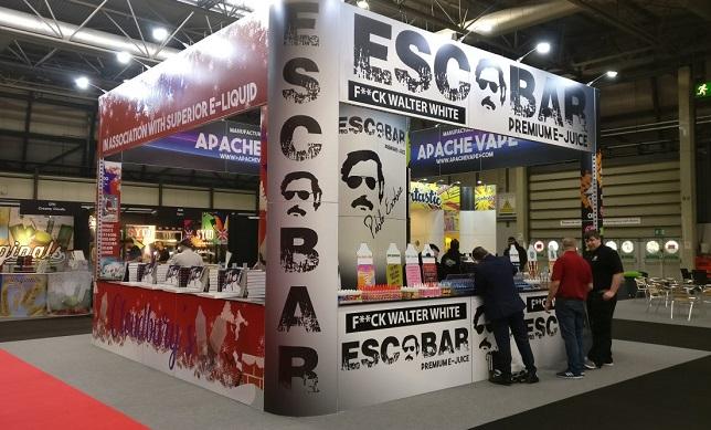 俄罗斯莫斯科国际电子烟展览会_现场照片