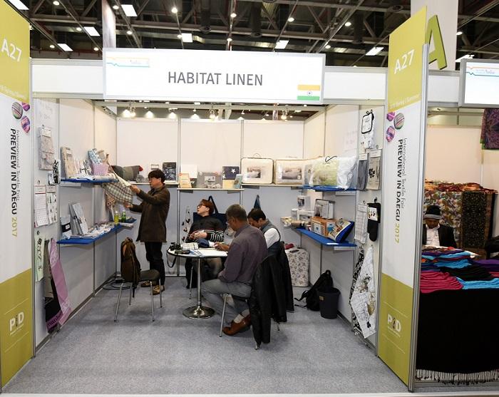 韩国大邱国际纺织展览会_现场照片