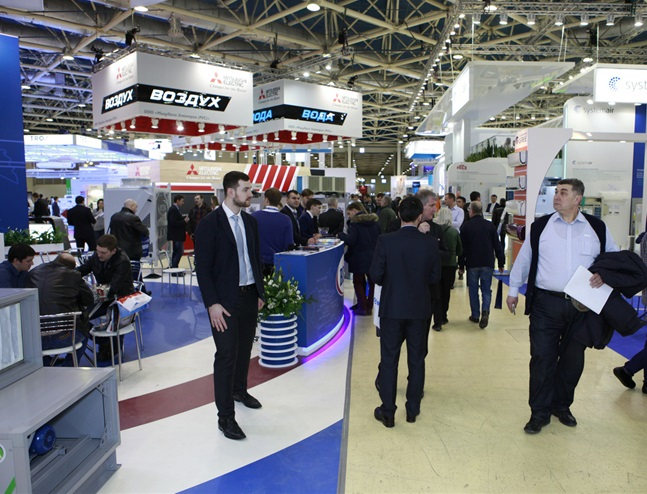 俄罗斯莫斯科国际暖通制冷及空调设备展览会_现场照片