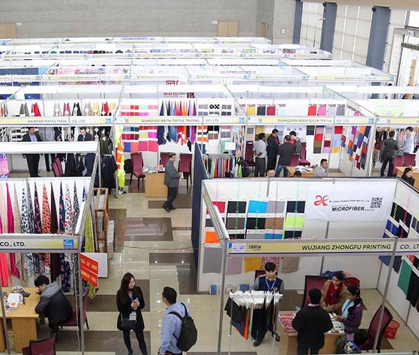孟加拉达卡国际秋季面料及纱线展览会_现场照片