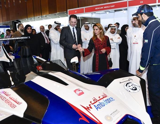 中东迪拜国际人道主义援助与发展会议暨展览会_现场照片