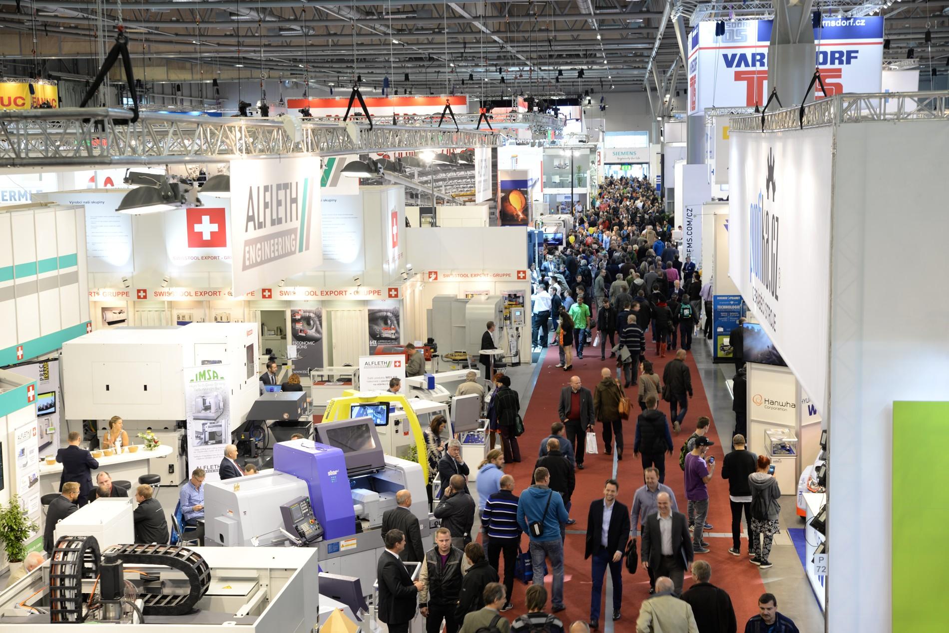 捷克布尔诺国际工业机械展览会_现场照片