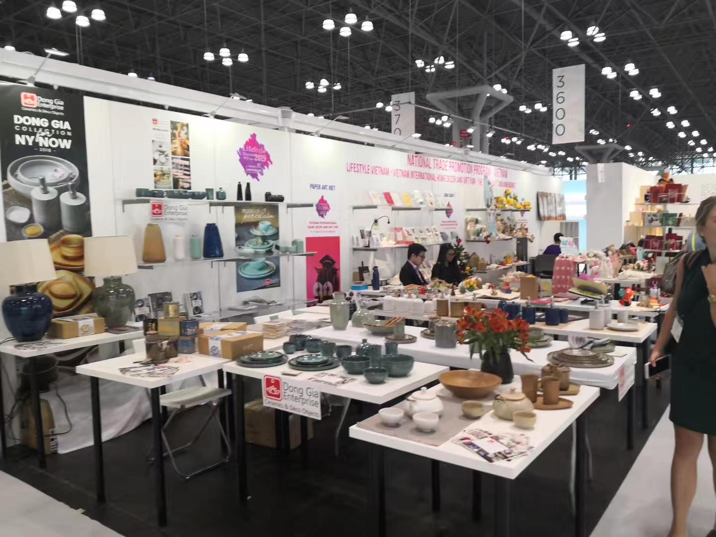 美国纽约秋季礼品展览会_现场照片