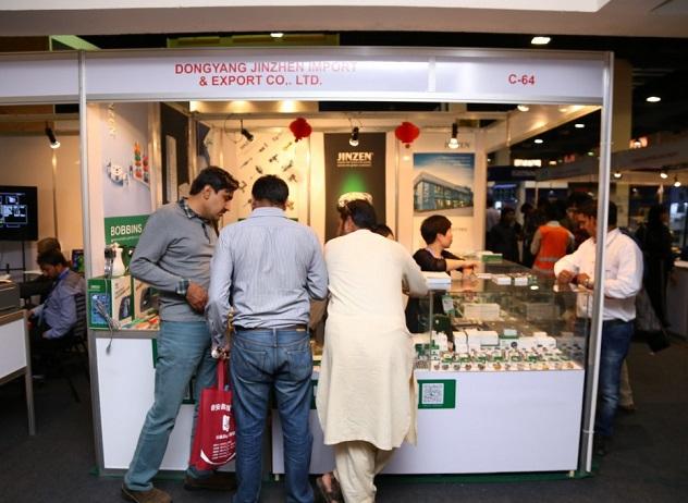 巴基斯坦卡拉奇国际春季纺织工业及纺织面料展览会_现场照片