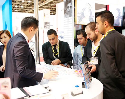 迪拜国际眼镜眼科用品展览会_现场照片