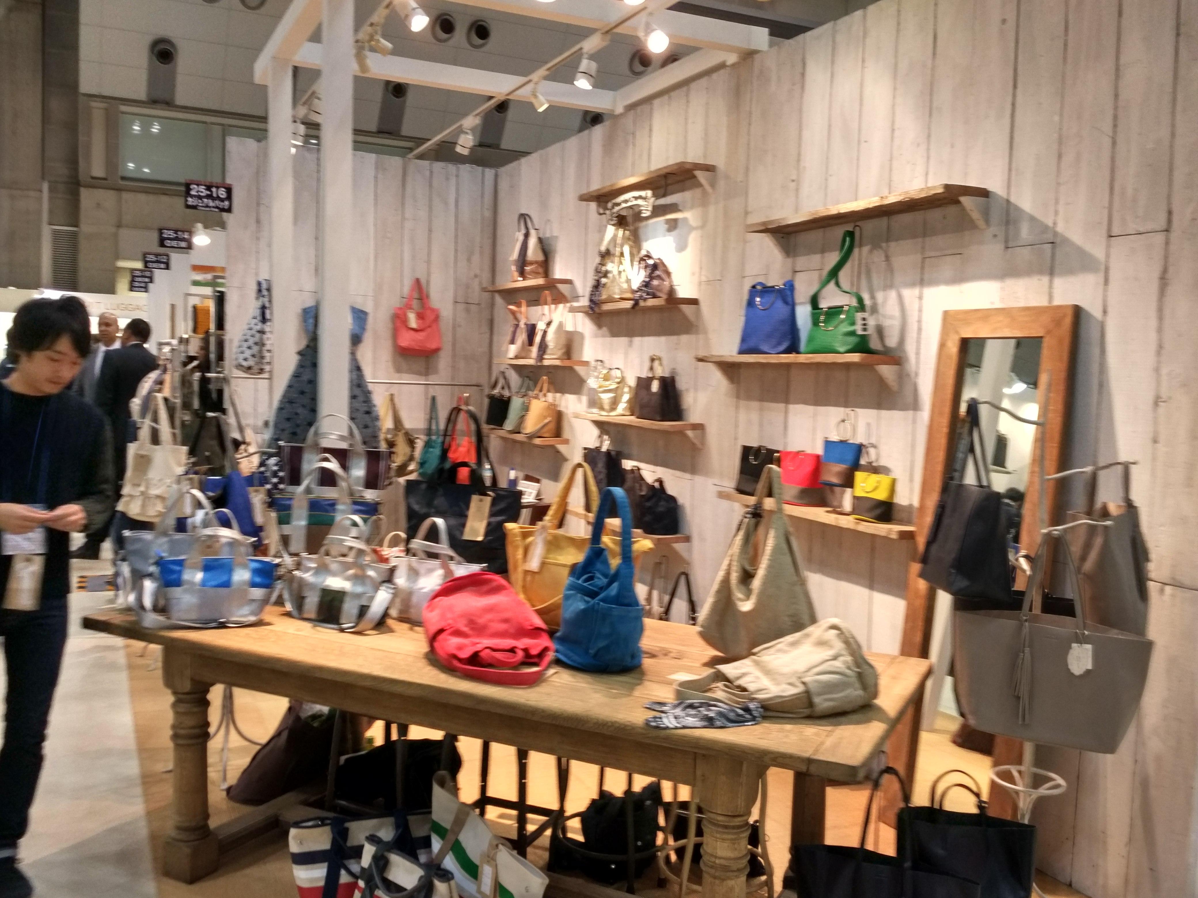 日本东京国际箱包皮具手袋展览会
