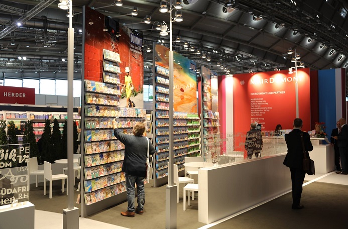 德国法兰克福国际图书展览会_现场照片
