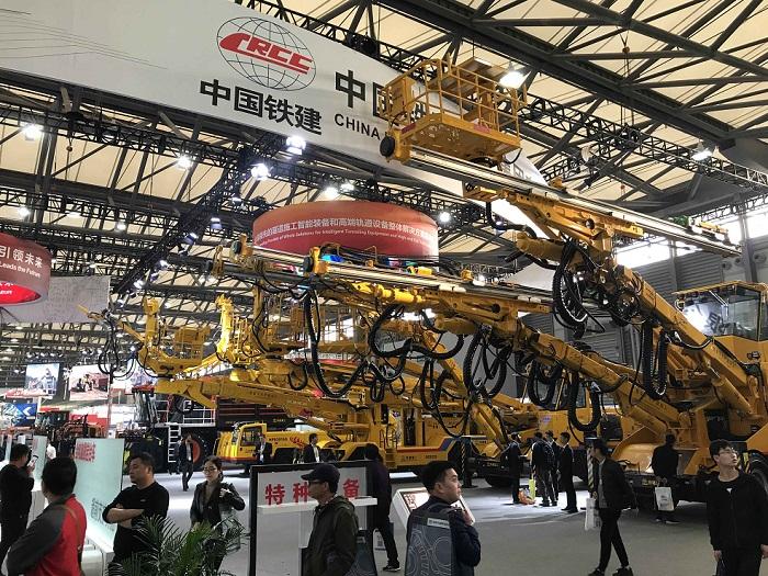中国(上海)国际工程机械、建材机械、矿山机械、工程车辆及设备博览会_现场照片