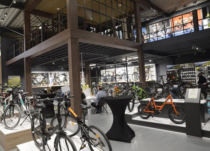 荷兰乌特勒支国际电动自行车体验展览会_现场照片
