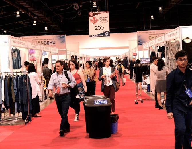 美国迈阿密国际服装纺织品采购展览会_现场照片