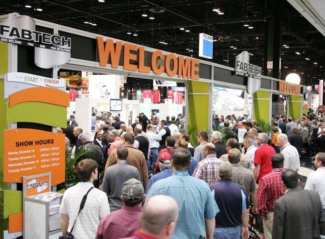 美国芝加哥国际金属加工及焊接展览会_现场照片
