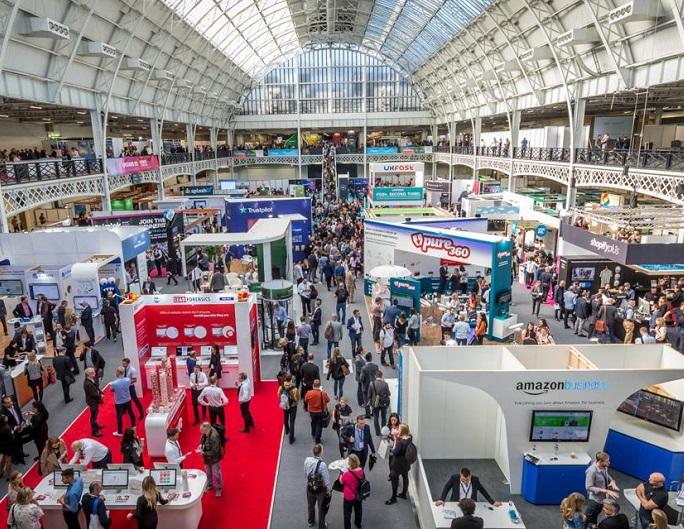 英国伦敦国际电子商务博览会_现场照片