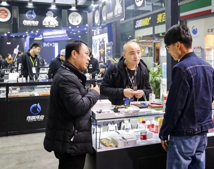 中国(上海)国际电子烟产业展览会_现场照片