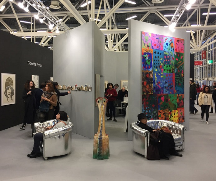意大利博洛尼亚国际艺术展览会_现场照片