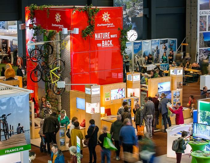 比利时根特国际自行车和徒步运动展览会_现场照片