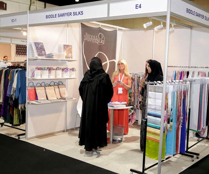 中东迪拜国际秋季纺织服装及面辅料展览会_现场照片