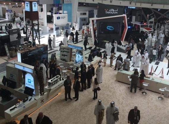中东阿布扎比国际安全及反恐技术展览会_现场照片