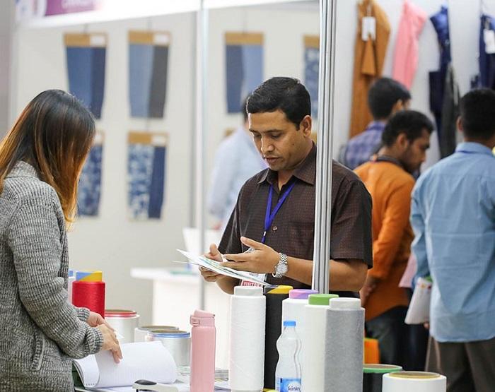 孟加拉达卡国际冬季面料及纱线展览会_现场照片