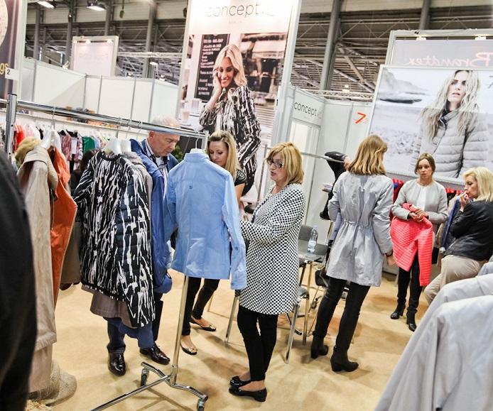波兰波兹南国际秋季服装展览会_现场照片
