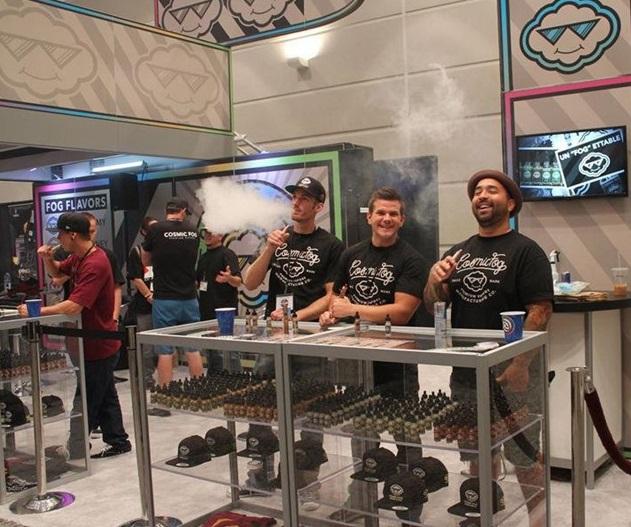 美国安大略国际电子烟展览会_现场照片