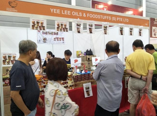 新加坡国际食品饮料展览会_现场照片