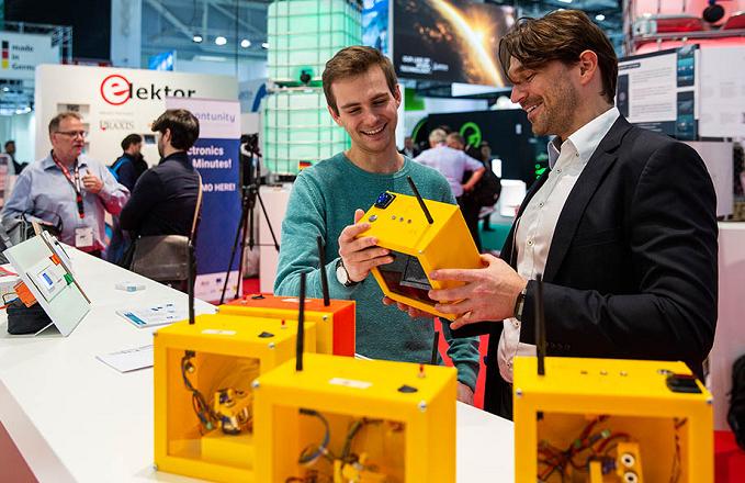德国慕尼黑电子元器件展览会_现场照片