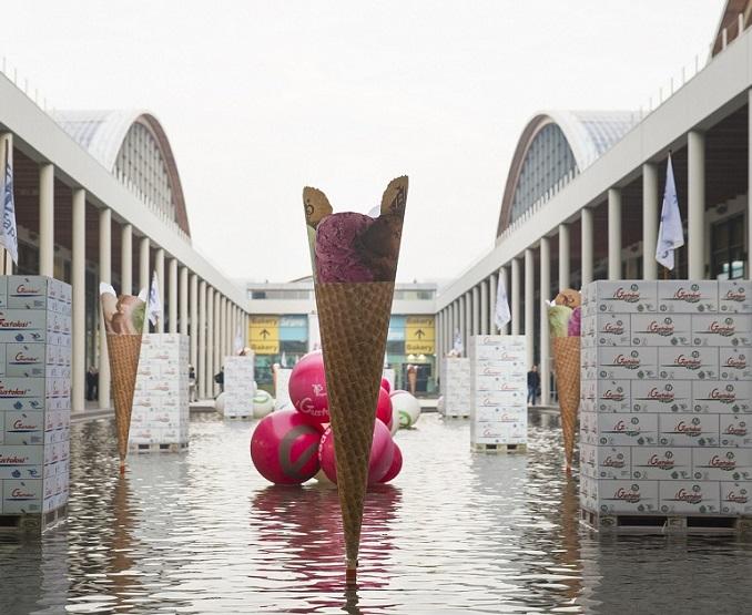 意大利里米尼国际糕点烘焙冰淇淋及糖果食品展览会_现场照片
